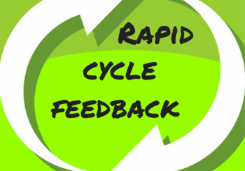 Image of arrows depicting Rapid Cycle Feedback