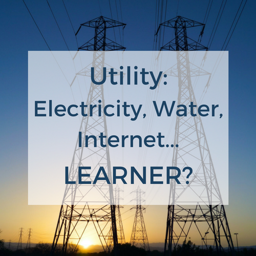Utility: Electricity, Water, Internet…Learner?