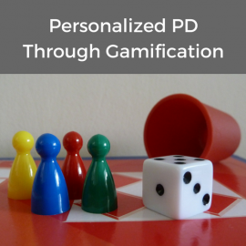 Personalized Professional Development through Gamification